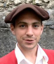 Photo de Cédric Morera, chanteur montagnard de Lourdes, second ténor