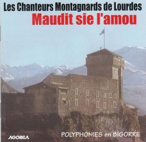"""couverture du CD des Chanteurs Montagnards de Lourdes """"Maudit sie"""""""