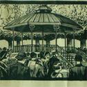kiosque à musique à Cauterets en 1932